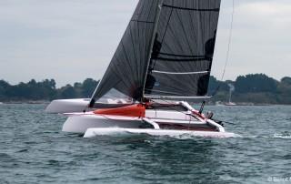 corsair pulse 600 trimaran sailboat