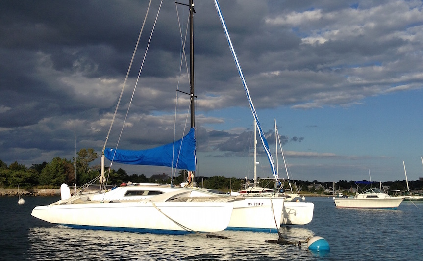 1991 Corsair F-27 trimaran for sale in Falmouth MA $37,500