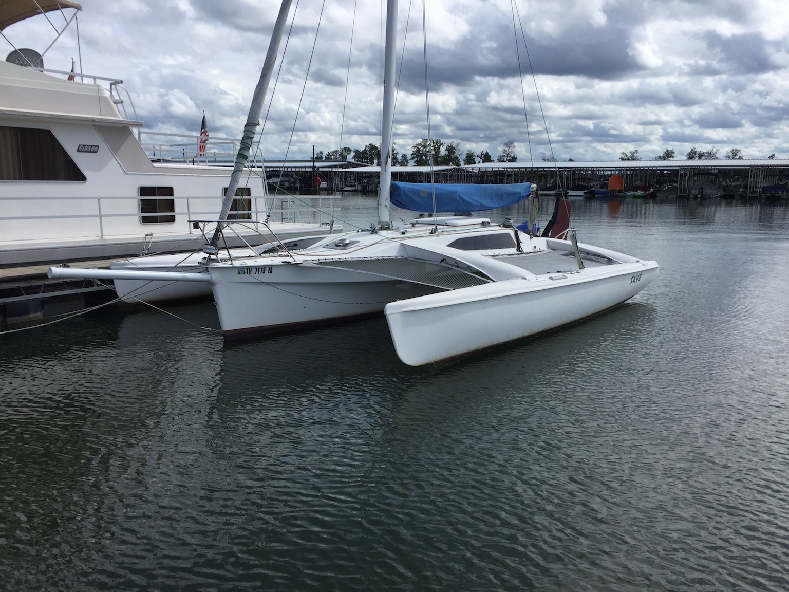 1997 Corsair F-28R trimaran in Nashville, TN $49,500