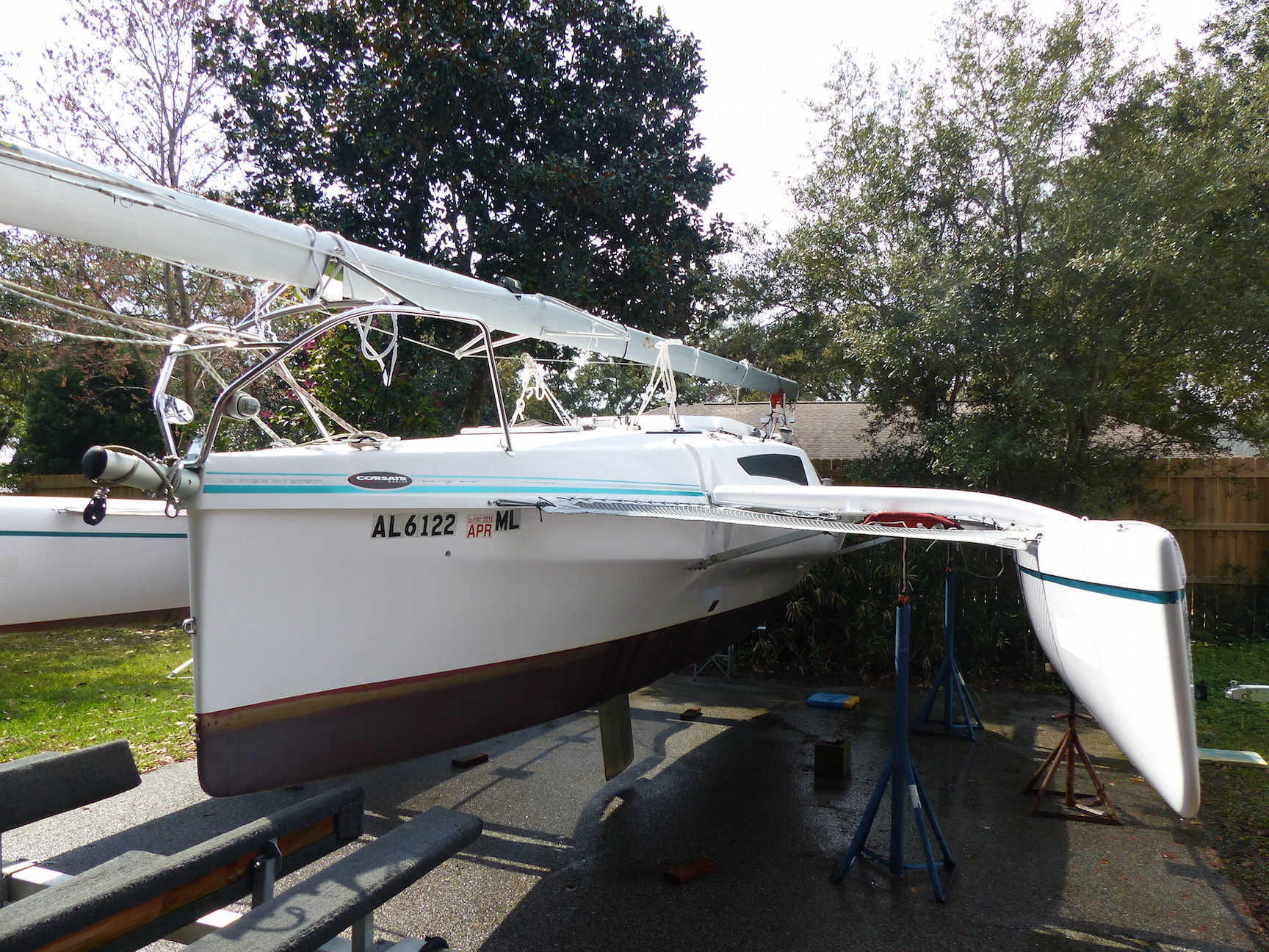 2014 Corsair Dash 750 Mk II for sale in Navarre, FL, Immaculate $59,900