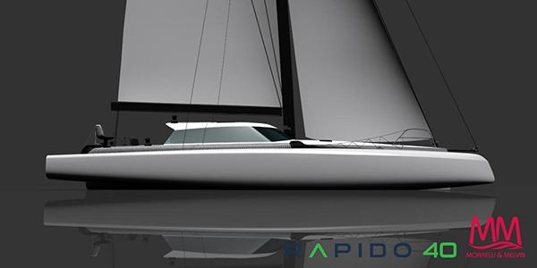 rapido trimaran 40 foot trimaran sailboat