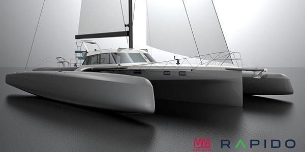 rapido trimaran 50 foot trimaran sailboat