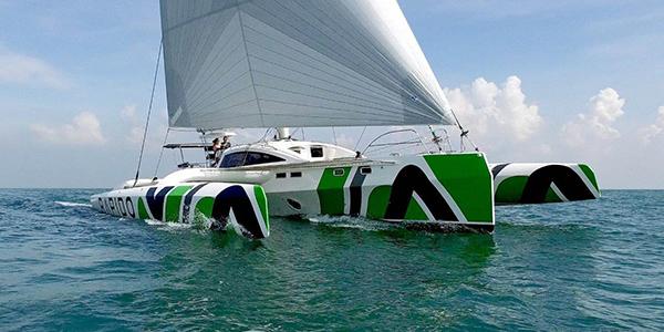 rapido trimarans 60 foot trimaran sailboat