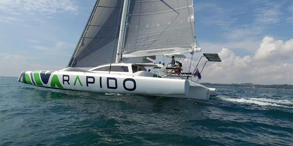 rapido trimarans for sale