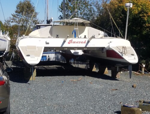 Sale Pending 2001 TRT 1200 CR 40 ft sailing catamaran Annapolis MD $145,000