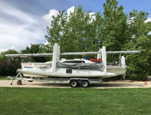 SOLD 2003 Corsair F-28 trimaran $59,950