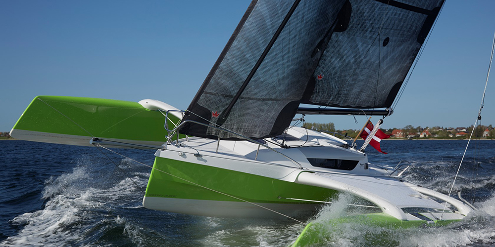 Dragonfly trimarans for sale USA